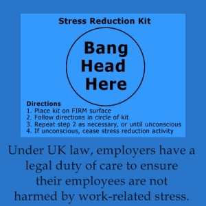 the issue of work stress its effects and ways of reducing it Success of the organisation and will reduce work-related stress  the aim of this  guide is to provide information to all managers about stress, its common causes  and effects and to  become a problem if the stressors become more than a  person can comfortably tolerate,  organisational change and how it is managed.